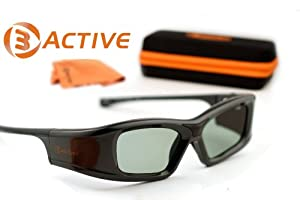 Toshiba Compatible 3ACTIVE® 3D Glasses. Rechargeable.