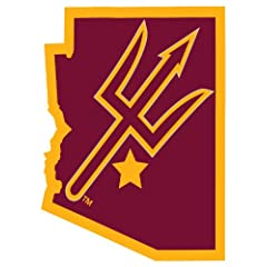 Buy Arizona State Sun Devils 4 x 4 Square Decal by Unknown
