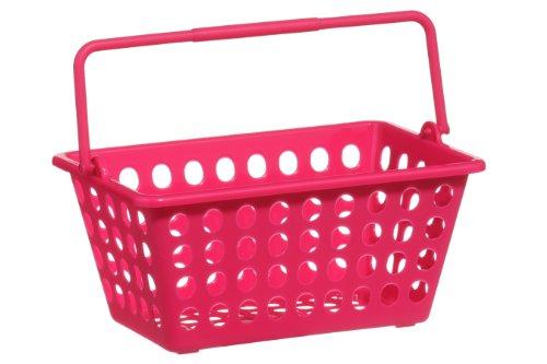 Premier Housewares Storage Basket, Hot Pink
