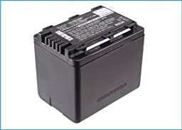 Battery2go Li-ion BATTERY Pack Fits Panasonic SDR-T50, SDR-T50K, SDR-H85K, SDR-S50A, HC-V500