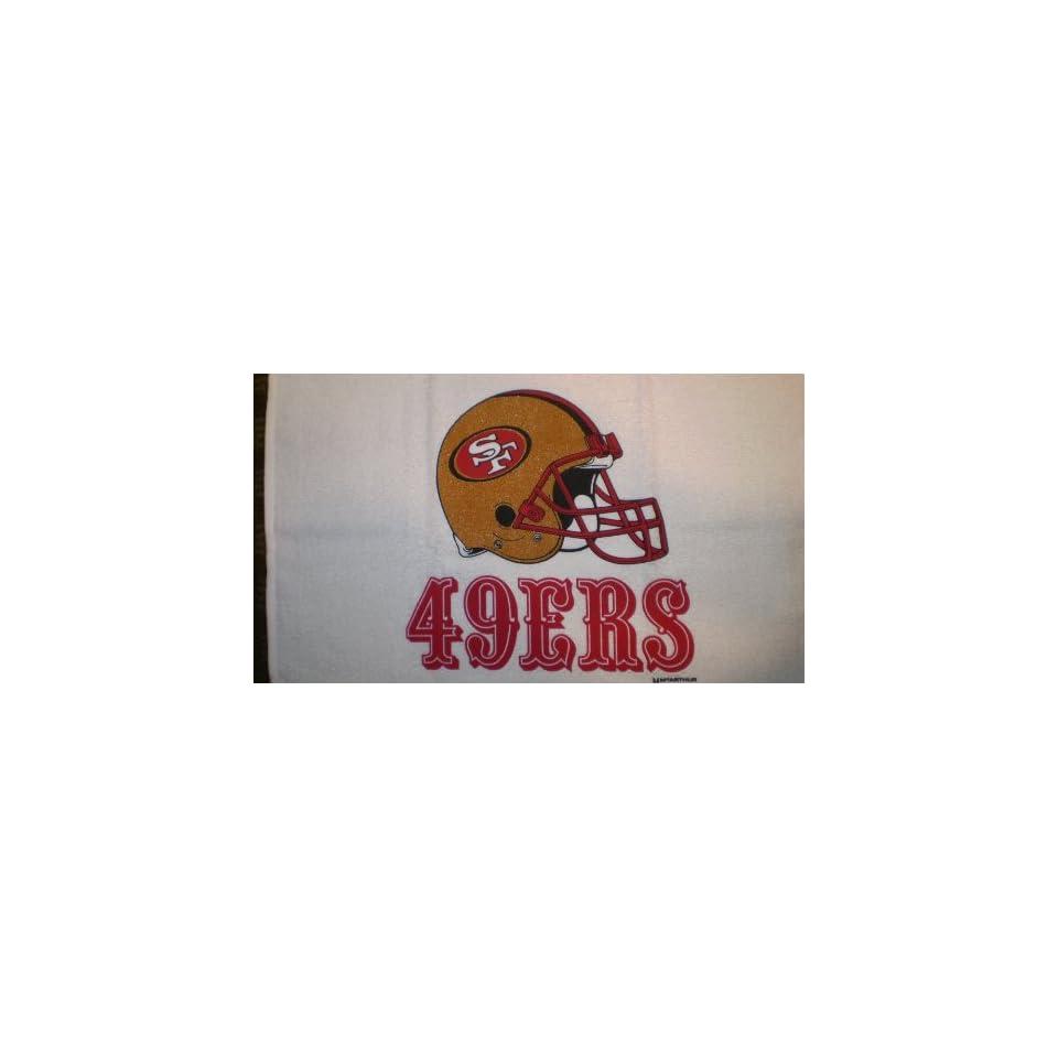 NFL San Francisco 49ers Sleeve Logo Golf Balls and Logo Golf Towel