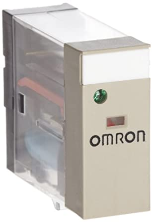 Omron G2R-2-SND DC24(S) General Purpose Relay, LED Indicator and Diode, Plug-In Terminals, Double Pole Double Throw Contacts, 21.6 mA Rated Load Current, 24 VDC Rated Load Voltage