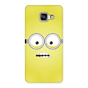 Delighted Yellows Fun Back Case Cover for Galaxy A3 2016