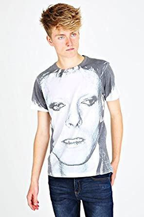 David Bowie Black And White Shirt Designer