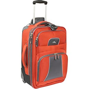 "High Sierra Elevate 22"" Carry-On Wheeled Upright (Lava/DarkTungsten)"