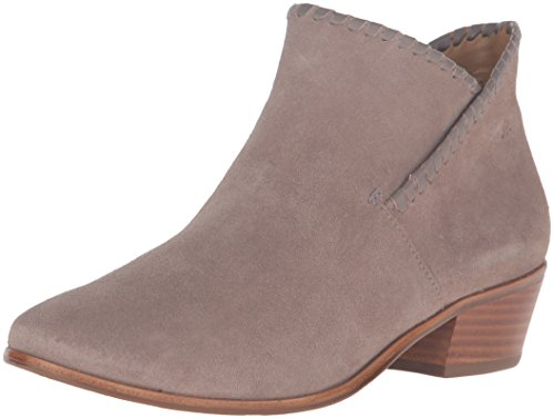 Jack Rogers Women's Sadie Suede Ankle Bootie, Light Grey, 7 M US (Grey Jack compare prices)