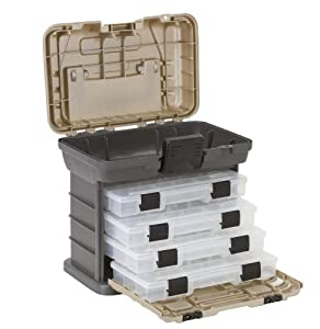 Plano Molding 1354 Stow N Go Tool Box with 4 23500 Series StowAways