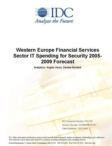 Western Europe Financial Services Sector IT Spending