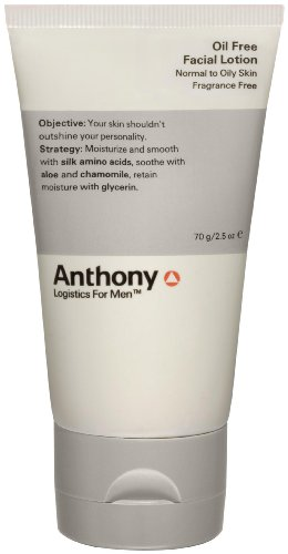 Anthony Logistics for Men Anthony Logistics for Men Oil Free Facial Lotion, 2.5 oz.