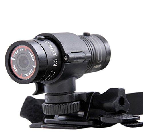 FuriAuto Caméra Sportive pour Casque de Moto HD 1080P Grand-angulaire 120° sport...