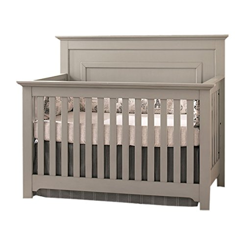 Munire Chesapeake Full Panel Crib, Grey