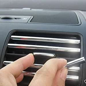 Docooler 4m u style diy car interior air for Pare vent interieur decoration