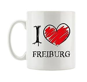 I love Freiburg Fun Tasse