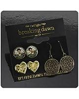 Twilight Breaking Dawn Part 2 Earrings 3 Pack Jacob