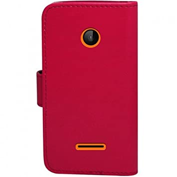 baas microsoft lumia 532 532 etui housse coque en cuir portefeuille portefeuille 2 x. Black Bedroom Furniture Sets. Home Design Ideas