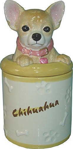 StealStreet SS-D-CJ027 Chihuahua Collectible Dog Puppy Cookie Jar Container Statue Figurine