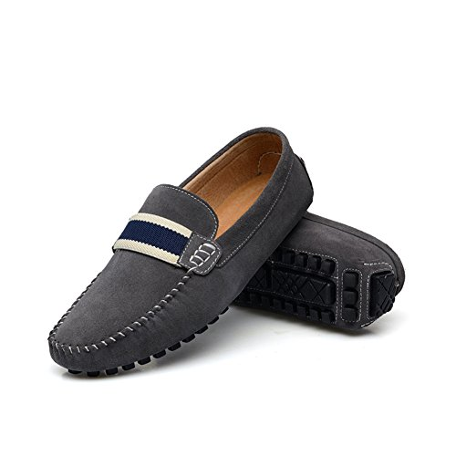 enllerviid s flat heel slip on driving car loafers