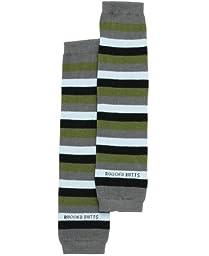 RuggedButts Infant / Toddler Boys Argyle Striped Leg Warmer - Blue/Gray/Green - One Size