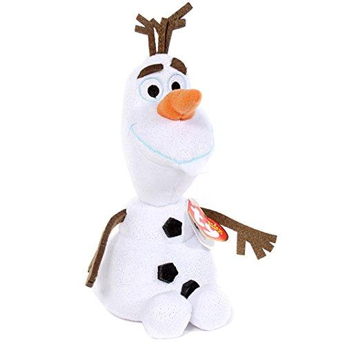 Ty Disney Frozen Beanie Babies Olaf the Snowman - 1
