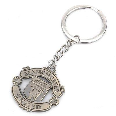 Manchester United FC Metal Keychain (Bronze)