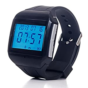 Northwest 72-MA878 Bluetooth Watch Connects with iPhone - Non-Retail Packaging - Black