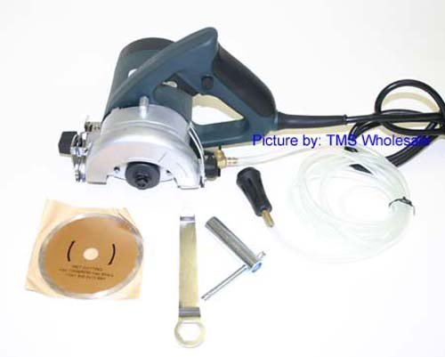"""4-1/2"""" Electric Marble Cutter - Tile Cutter Ul Listed - Perfect Diy Tool"""