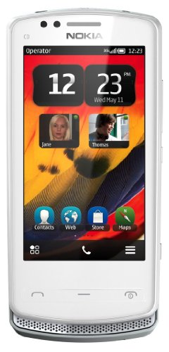 Nokia 700 Unlocked GSM Phone with Touchscreen, 5 MP Camera, Symbian Belle OS, and NFC--U.S. Warranty (White)