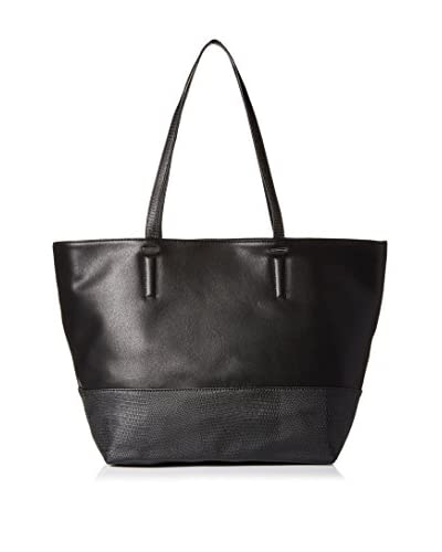 Danielle Nicole Women's Savannah Tote, Black Lizard