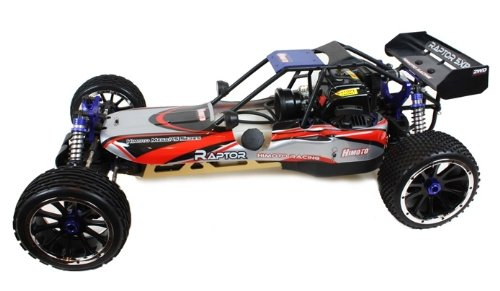 RC Nitro Cars Remote Radio Controlled Fast Nitro Buggy / Truggy 1:5 Scale Raptor