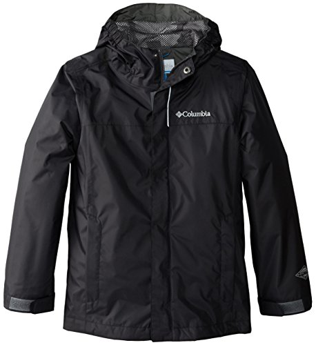 Columbia Little Boys' Watertight Jacket, Black, X-Small