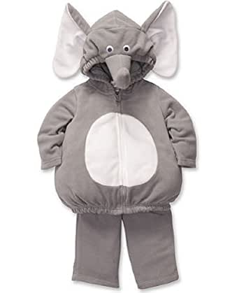 Carter's Baby Halloween Costume Elephant 2 Pieces Gray Long Sleeve Top & Pants New