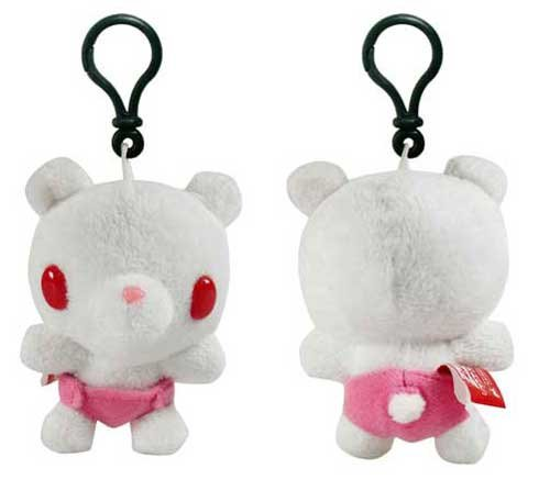 "Baby Gloomy Bear Clip-On 3"" Plush White"