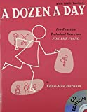 Edna Mae Burnam A Dozen a Day: Transitional Bk. 3: Pre-practice Technical Exercises for the Piano (Book & CD)