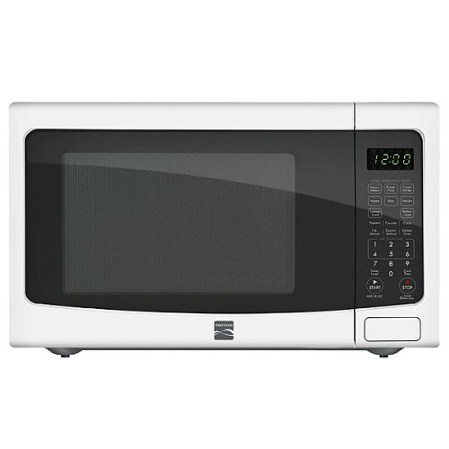 Kenmore 1.2 Cu. Ft. Countertop Microwave W/ Ez Clean Interior - White 72122