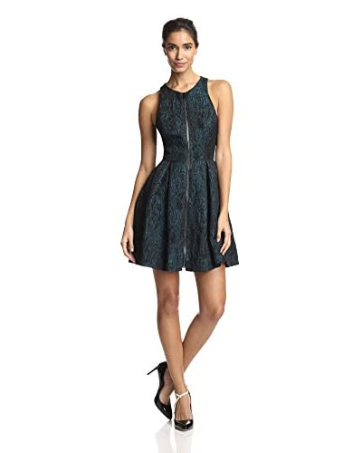 Ali Ro Women's Zip Front Jacquard Dress