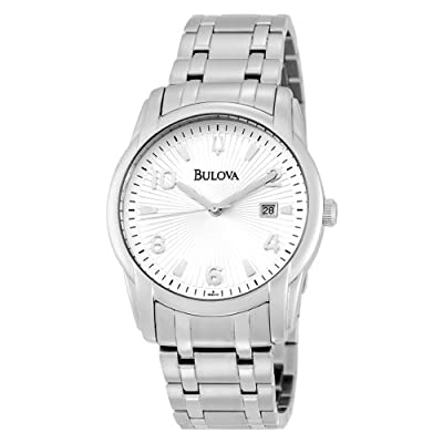 Bulova Men's 96B014 Calendar Bracelet Watch