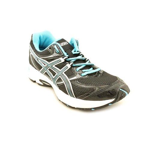 asics men's gel-pulse 5 shoes - white/onyx/neon orange