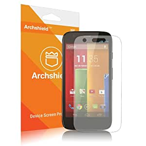 Archshield - Moto G Premium High Definition (HD) Clear Screen Protector 3-Pack - Retail Packaging (Lifetime Warranty)