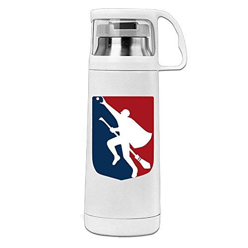 VOLTE Quidditch LOGO Portable Stainless Steel Vacuum Cup Perfect For Travel Keep Water Warm Or Cold 8 Hours 14 Ounces