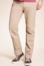 North Coast 5 Pocket Straight Leg Trousers [T17-1741N-S]