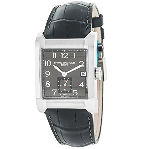 baume-mercier-bau-8263-reloj-de-pulsera-hombre-piel