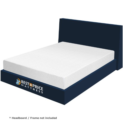 "Find Cheap Best Price Mattress - 8"" Memory Foam Mattress with 2"" Memory Foam + Air Flow Co..."