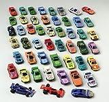 50 PC Race Car Set - Metal Plastic Die Cast Cars by US Toy [Toy]