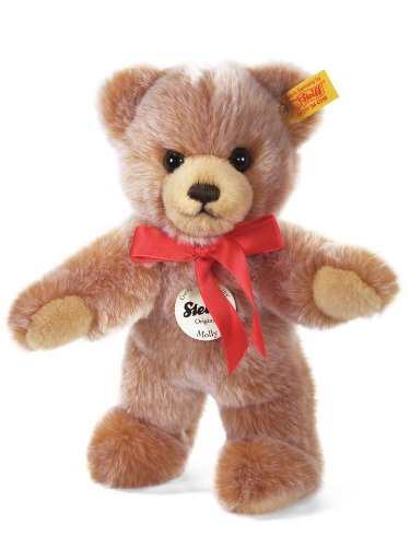 Steiff 019593 - Molly Teddybär, hellbraun gespitzt, 24 cm