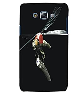 PrintDhaba Metaalic Fly D-5431 Back Case Cover for SAMSUNG GALAXY ON 7 (Multi-Coloured)