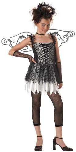 California Costumes Girls Tween Dark Angel Costume