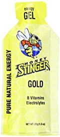 Honey Stinger Gold Energy Gel, 1.3-Ounce Gels (Pack of 24)