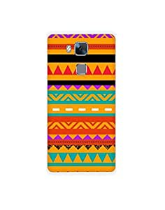 HUAWEI honer 5c nkt02 (42) Mobile Case by Mott2 - Tribal Designer Pattern (Limited Time Offers,Please Check the Details Below)