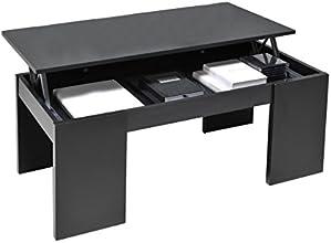 Weber Industries 026216 Contemporain Newton Table Basse Noir 100,5 x 43,5 x 50 cm