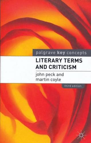 Literary Terms and Criticism (Palgrave Key Concepts)